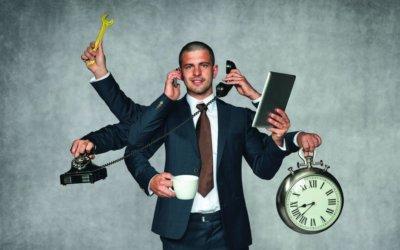 Děláte více věcí najednou, tzv. multitasking?